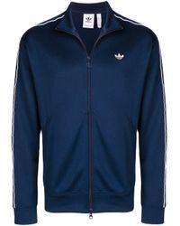 メンズ Adidas ロゴ ジャケット Blue