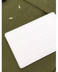 Сумка-мессенджер С Логотипом Maison Margiela для него, цвет: Green