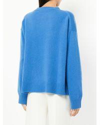 Sofie D'Hoore Blue Milla Cashmere Sweater