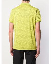 メンズ J.Lindeberg ロゴ ポロシャツ Yellow