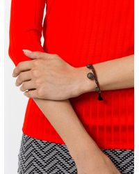 Ileana Makri - Metallic Beaded Bracelet - Lyst