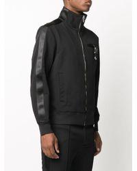 メンズ 1017 ALYX 9SM ロゴ ボンバージャケット Black