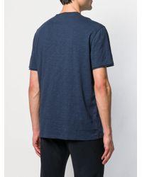 メンズ John Varvatos Vネック Tシャツ Blue