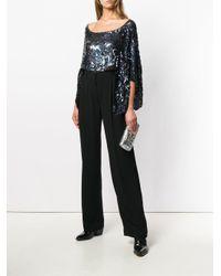 Sonia Rykiel Black High-waisted Pleated Trousers