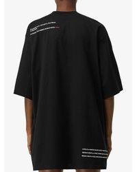 Burberry Montage Tシャツ Black