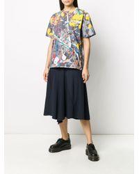 メンズ Sacai プリント Tシャツ Blue