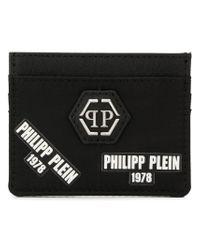 メンズ Philipp Plein 1978 カードケース Black