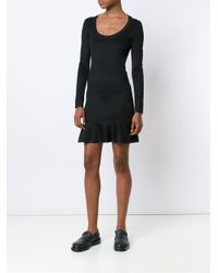 Rag & Bone - Black 'brianna' Dress - Lyst