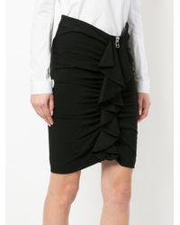 Veronica Beard Black Lura Skirt
