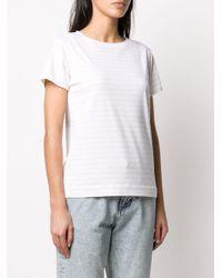 A.P.C. ストライプ Tシャツ White