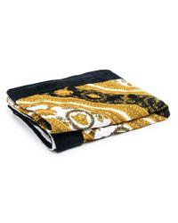 Пляжное Полотенце С Принтом Versace для него, цвет: Metallic