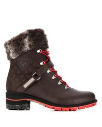 Rossignol Megève レースアップブーツ Brown