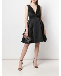 Расклешенное Платье С Вышивкой Zuhair Murad, цвет: Black