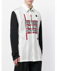 Raf Simons Multicolor New Order Shirt for men