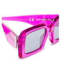 Retrosuperfuture Sacro サングラス Pink