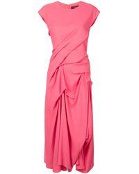 Sies Marjan ドレープ デイドレス Pink