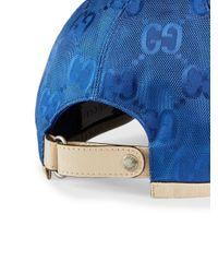 メンズ Gucci Off The Grid ベースボール キャップ 日本限定 Blue