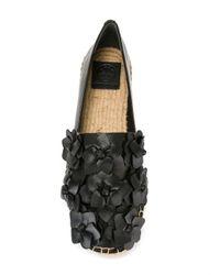 Tory Burch - Black Blossom Espadrilles - Lyst