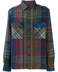 Chemise à carreaux Missoni pour homme en coloris Blue