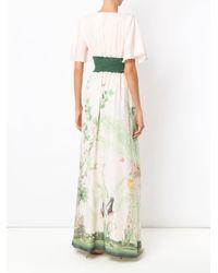 Noor long dress di Isolda in Multicolor