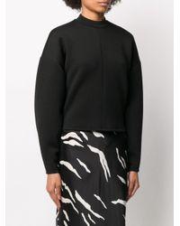 Beaufille ボックスシルエット スウェットシャツ Black
