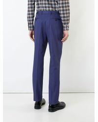 メンズ Gieves & Hawkes スリムフィットパンツ Blue
