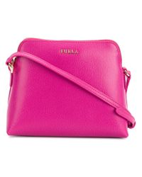 Furla Pink Boheme Crossbody Bag