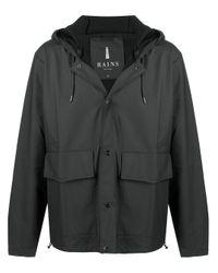 Легкая Куртка С Капюшоном Rains для него, цвет: Black