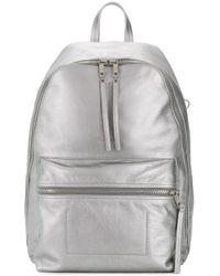 Rick Owens Metallic Backpack