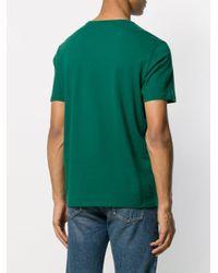 T-shirt a girocollo di Majestic Filatures in Green da Uomo