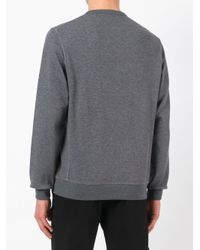 Brunello Cucinelli - Gray Knitted Sweater for Men - Lyst