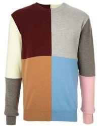 Pull colour block Stella McCartney pour homme en coloris Multicolor