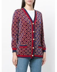Gucci Horsebit Embroidered Cardigan