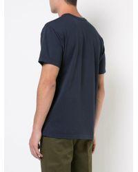 Neighborhood Blue Skull Print T-shirt for men