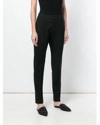 Joseph - Black Tapered Slim Fit Trousers - Lyst