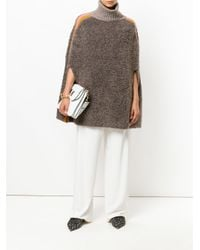 M Missoni - Brown Slouched Pullover Sweater - Lyst