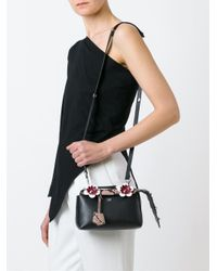 Fendi Black Mini 'fashion Show By The Way' Crossbody Bag