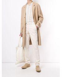 メンズ Brunello Cucinelli コーデュロイ スリムパンツ White