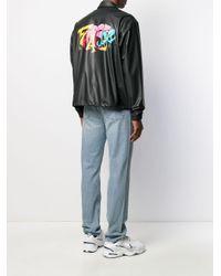 メンズ Facetasm ロゴ ボンバージャケット Multicolor