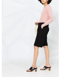 N.Peal Cashmere サイドスリット カシミアセーター Multicolor