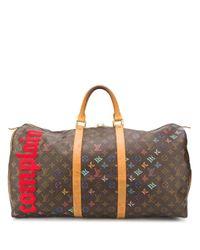Louis Vuitton キーポル 45 ハンドバッグ Multicolor