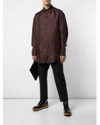 メンズ Yang Li プリント シャツ Multicolor