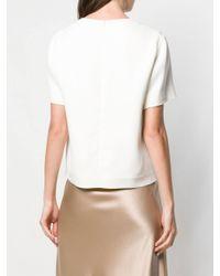 The Row White Plain T-shirt
