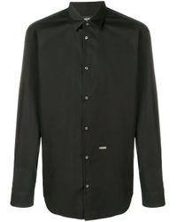 Camicia a maniche lunghe di DSquared² in Black da Uomo