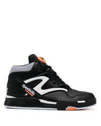 Reebok Black Pump Omni Zone Ii Mid-top Sneakers for men