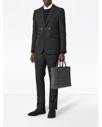 Mallette à carreaux London Burberry pour homme en coloris Black