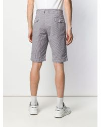 Comme Des Garçons Pre-Owned Blue Gingham Shorts for men