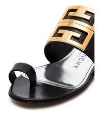 Givenchy 4g サンダル Black