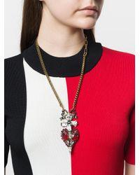 Rada' - Multicolor Long Pendant Necklace - Lyst
