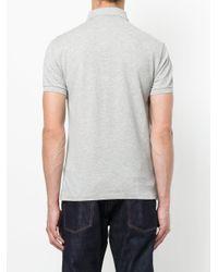 Polo Ralph Lauren Gray Embroidered Logo Polo Shirt for men